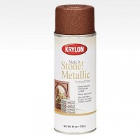 Make It Stone! Metallic аэрозоль Текстурный Металл, 340гр. Copper - Медь Krylon 8262