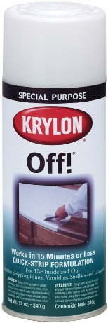 ПЯТНОВЫВОДИТЕЛЬ - Krylon®OFF! PAINT&VARNISH STRIPPER