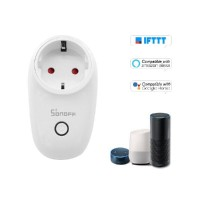 Розетка с управлением по Wi-FI, Sonoff S26 Smart Socket 10А, умный дом